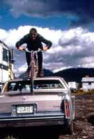 Mark Michel in Crested Butte, 1985